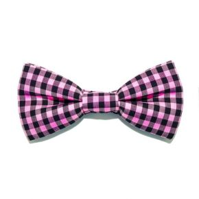 BOW TIE PINK SMALL SQUARE - SLIM SERIES
