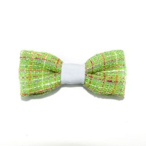 BOW TIE GREEN WEFT - CIRCLE SERIES