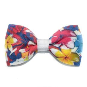 BOW TIE BIG RED BLOOM - BUTTERFLY SERIES