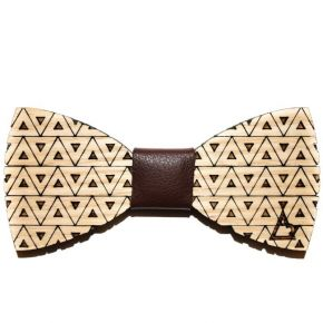 BOW-TIE TRIANGLE - WOOD SERIES