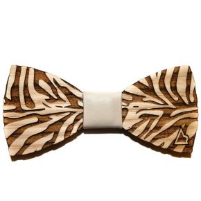 BOW-TIE TIGER - WOOD SERIES