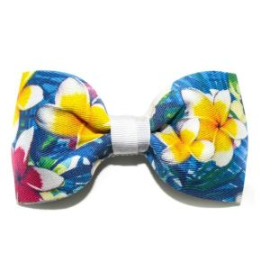 BOW-TIE BIG BLUE BLOOM - BUTTERFLY SERIES