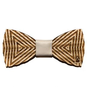 BOW-TIE OPTICAL TRIANGLE - WOOD SERIES