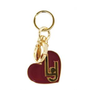 Portachiav Liu Jo lj heart key ring bordeaux