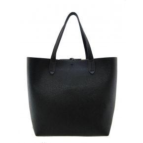 Shopping bag schwarz von Patrizia Pepe