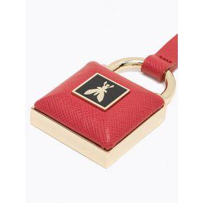 Keychain keyring Patrizia Pepe robe rouge rouge