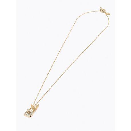 Collana necklace Patrizia Pepe shiny gold butterfly oro diamanti