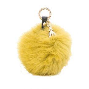 Keychain keyring Patrizia Pepe jaune