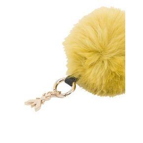 Schlüsselanhänger keyring Patrizia Pepe gelb