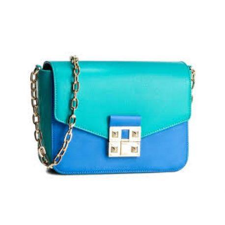 Tasche tracollina große sifno Liu Jo blaue palast miami Liu Jo
