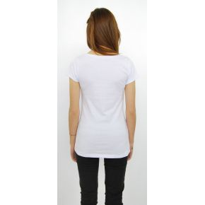 JERSEY T-SHIRT WHITE SHORT SLEEVE MADE IN COTTON, WITH PRINTING SMALL THINGS