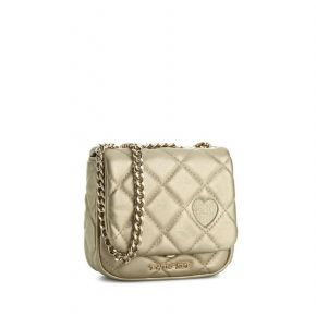 Bag tracollina Twin-Set quilted gold free gold quilted Twin Set Simona Barbieri