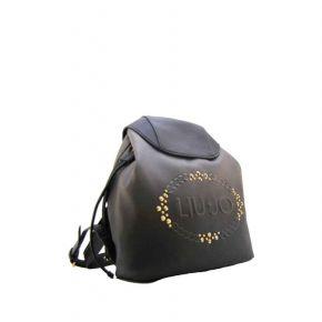 Bolsa mochila de Liu Jo logotipo de la luciérnaga se desvaneció de la pistola de metal congelado