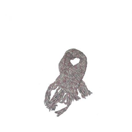 Sciarpa in lana Patrizia Pepe lilac melange