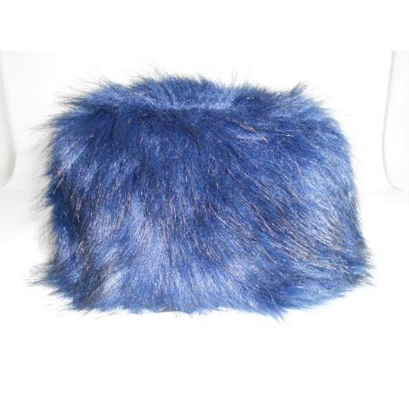 BEARSKIN FUR ELECTRIC BLUE LIU JO