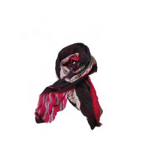 Scarf Liu Jo voiced anna black 105x105