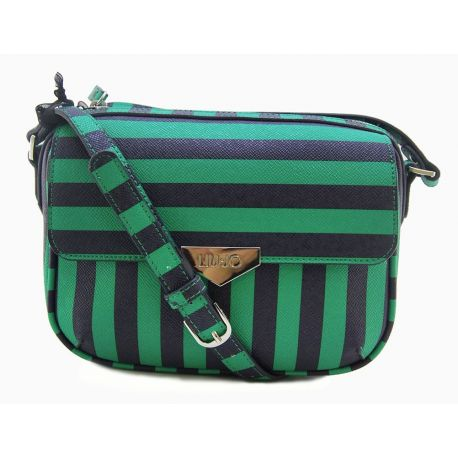 SCHULTERRIEMEN S STRIPES FULL GREEN STRIPE LIU JO