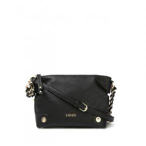 Bag tracollina Liu Jo black lavender