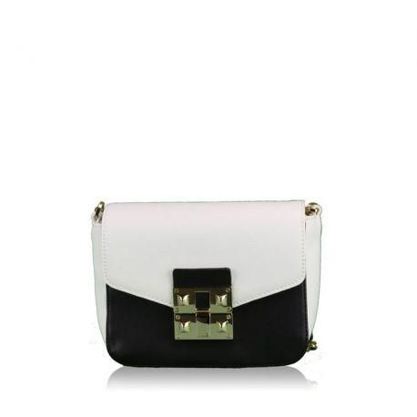 Tasche tracollina kleine schwarz-weiße Liu Jo