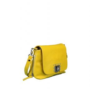 Bag folder Liu Jo m sunflower yellow