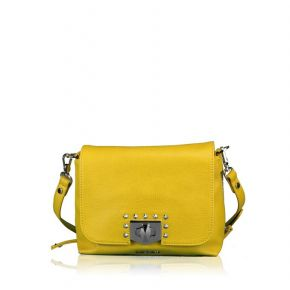 Bag folder Liu Jo m sunflower yellow