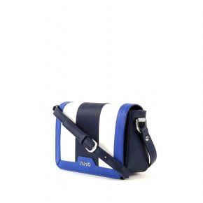 Bag tracollina Liu Jo's new cannes blue white blue