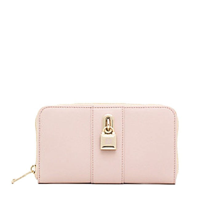 371c0ae41f Wallet zip around Patrizia Pepe butterfly rose
