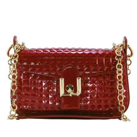 Tasche baguette Liu Jo freesie, rote