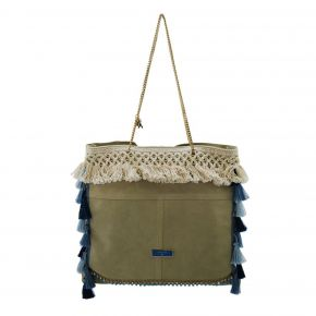 Borsa Shopping Patrizia Pepe natural