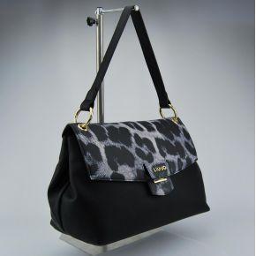 Bolsa de carpeta de Liu Jo grandes marsella negro