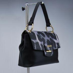 Bolsa de carpeta de Liu Jo pequeño marsella negro