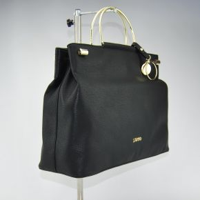 Borsa shopping Liu Jo con tramezza maincy nera