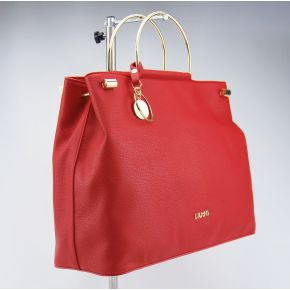 Borsa shopping Liu Jo con tramezza maincy rossa