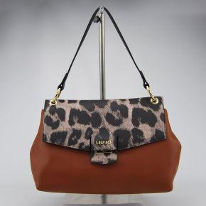 Bolsa de carpeta de Liu Jo grandes marsella marrón