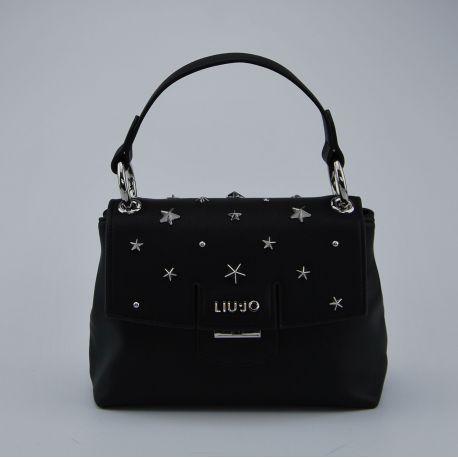 Tasche ordner Liu Jo klein marseille schwarz-silber