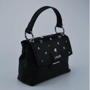Bolsa de carpeta de Liu Jo pequeño marsella negro plata
