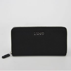 Wallet zip around Liu Jo belvis black