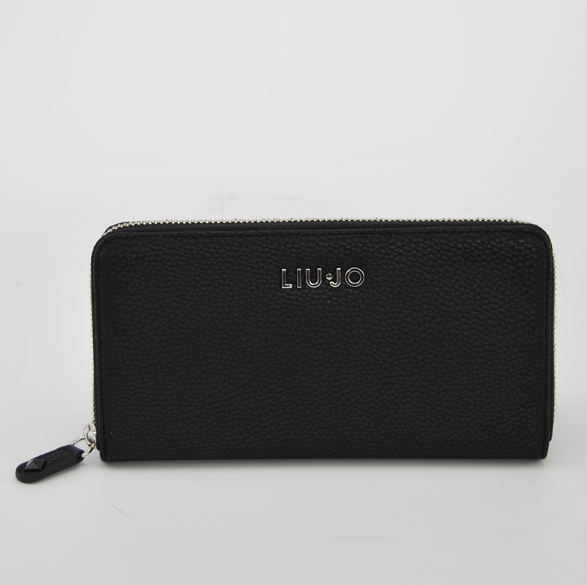 prezzi economici prodotto caldo bello design Wallet zip around Liu Jo belvis black