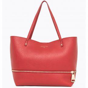 Sac Shopping par Patrizia Pepe-rouge