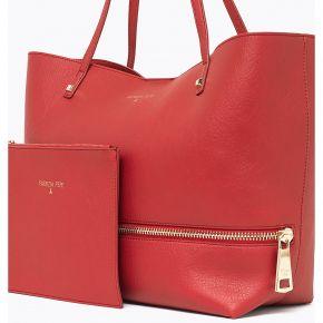 Borsa shopping Patrizia Pepe rossa