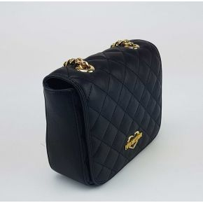 Shoulder bag Love Moschino quilted black