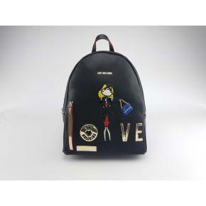 Rucksack Love Moschino-schwarz