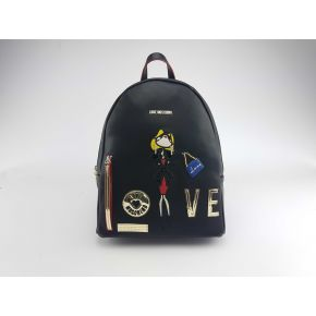 Zaino Love Moschino nero