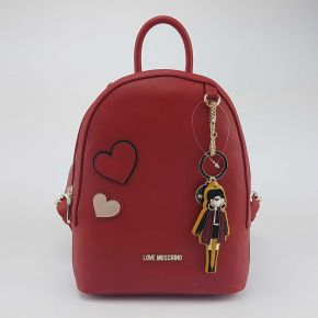 Mochila de Love Moschino rojo