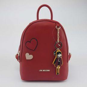 Zaino Love Moschino rosso