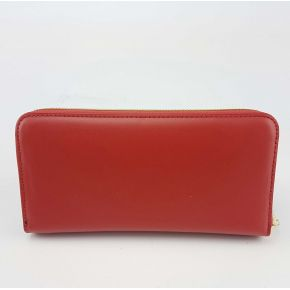 Wallet Love Moschino heart red gold