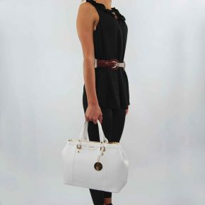 Borsa shopping Liu Jo 2 zip new cannes bianca