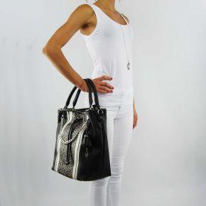 Bag bucket bag Liu Jo stern printed black marble