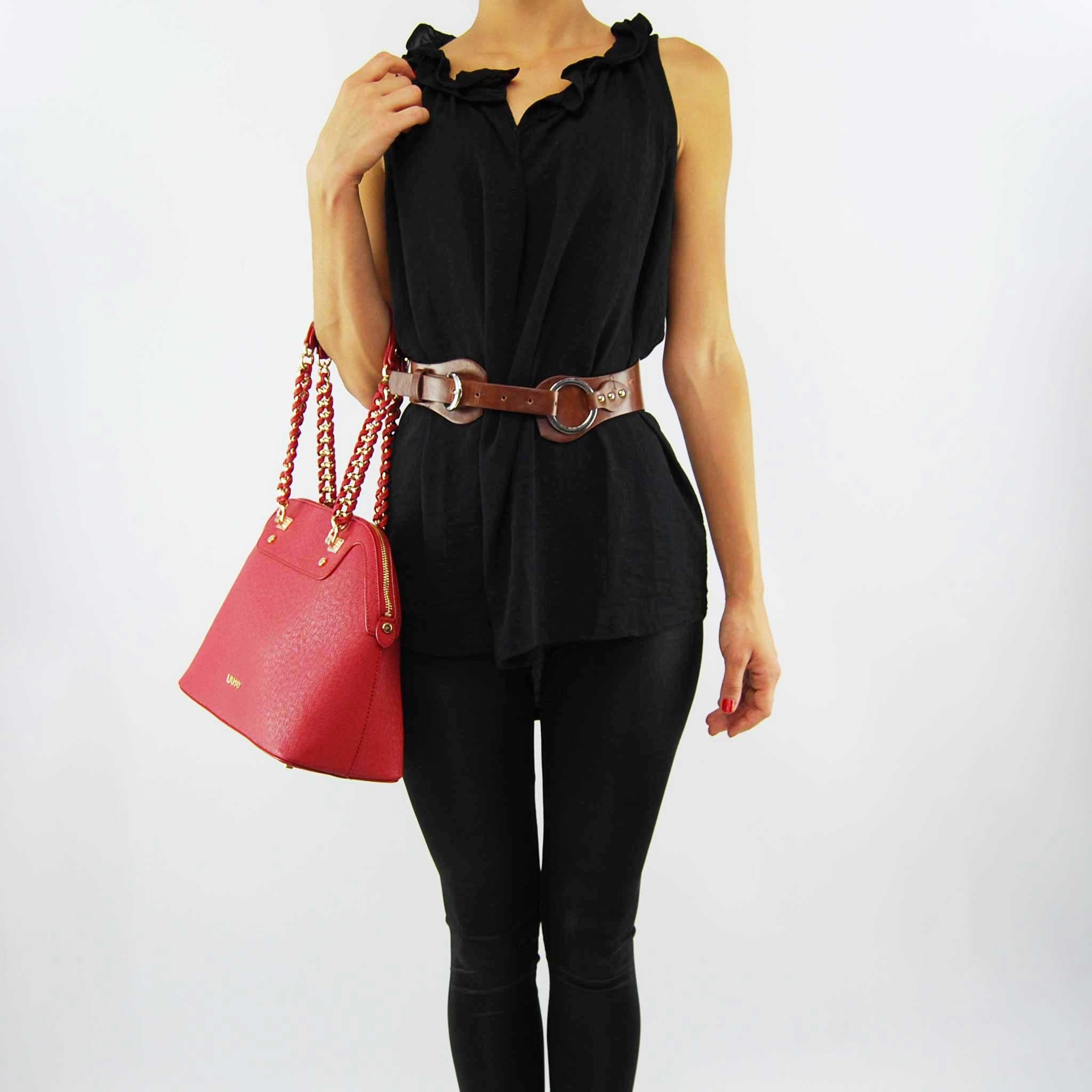 Shopping bag Liu Jo m anna chain lacquer