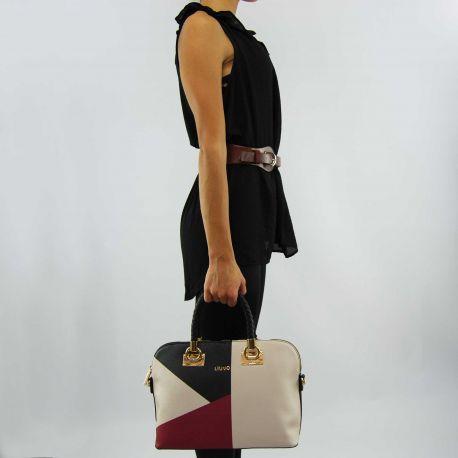 Tasche Liu Jo shopping M anna true ch/lack/black